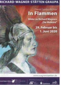 """In Flammen, Bilder zu Richard Wagners """"Die Walküre"""""""